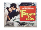 A Farewell To Arms, 1957, Directed by Charles Vidor Giclee Print