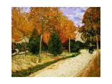 'Autumnal Garden' or 'The Public Park', 1888 Giclee Print by Vincent van Gogh