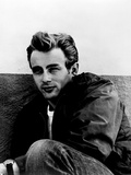 "James Dean. ""Rebel Without a Cause"" 1955, Directed by Nicholas Ray Fotografiskt tryck"