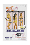 Deadlier Than the Male, 1967, Directed by Ralph Thomas Giclee Print