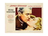 """Alfred Hitchcock's Rear Window, 1954, """"Rear Window"""" Directed by Alfred Hitchcock Impression giclée"""