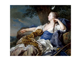 Diana In a Landscape, 1739, French School Giclee Print by Louis-Michel Van loo