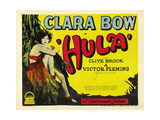 Hula, 1927, Directed by Victor Fleming Giclée-tryk