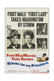 "Kisses for the President, 1964, ""Kisses for My President"" Directed by Curtis Bernhardt Giclee Print"