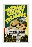 Tarzan's Secret Treasure, 1941, Directed by Richard Thorpe Giclee Print