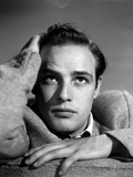 "Marlon Brando. ""Battle Stripe"" 1950 ""The Men"" Directed by Fred Zinnemann Photographic Print"