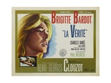 "The Truth, 1960 ""La Verite"" Directed by Henri-georges Clouzot Giclee Print"