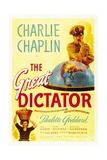"The Dictator, 1940 ""The Great Dictator"" Directed by Charles Chaplin Giclee Print"