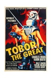 Tobor the Great, 1954, Directed by Lee Sholem Lámina giclée