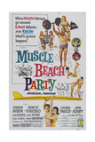 Muscle Beach Party, 1964, Directed by William Asher Giclee Print