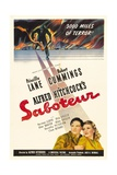 Saboteur, 1942, Directed by Alfred Hitchcock Giclee Print