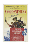 "Three Godfathers, 1948, ""3 Godfathers"" Directed by John Ford Giclee Print"