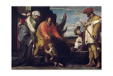 John Baptist Says Farewell To His Parents, Ca. 1635, Italian School Lámina giclée por Massimo Stanzione