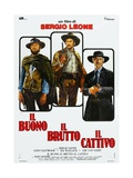 "The Good, the Bad And the Ugly, 1966, ""Il Buono, Il Brutto, Il Cattivo"" Directed by Sergio Leone Giclee Print"