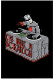 Tis But A Scratch Snorg Tees Poster Poster