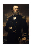 Samuel Francis Du Pont. American Naval Officer Giclee Print by Daniel Huntington