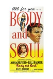 Body And Soul, 1947, Directed by Robert Rossen Giclee Print