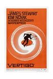 """vertigo', 1958, """"Vertigo"""" Directed by Alfred Hitchcock Gicléedruk"""