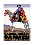 Carmen, 1926, Directed by Jacques Feyder Giclee Print