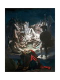 The Dream of Ossian, 1813 Giclee Print by Jean-Auguste-Dominique Ingres