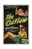 The Outlaw, 1943, Directed by Howard Hughes Giclee Print