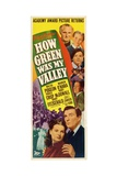 """How Green Was My Valley"" 1941, Directed by John Ford Giclée-tryk"