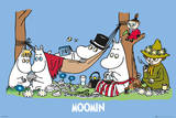 The Moomins - Picnic Posters