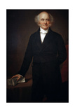Martin Van Buren . 8th President of USA Reproduction procédé giclée par George Peter Alexander Healy