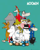 The Moomins - Characters Pósters
