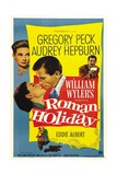 Roman Holiday, 1953, Directed by William Wyler Giclée-Druck