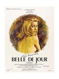 "Beautiful of the Day, 1967, ""Belle De Jour"" Directed by Luis Buñuel Giclée-Druck"
