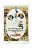 Rome Adventure, 1962, Directed by Delmer Daves Giclee Print