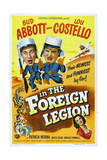 "Foreign Legion, 1950 ""Abbott And Costello In the Foreign Legion"" Directed by Charles Lamont Giclee Print"