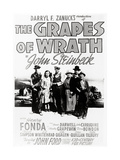"Daryl F. Zanuck's Producion of ""The Grapes of Wrath"" by John Steinbck Giclee Print"