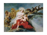 The Birth of the Milky Way, 1636-1637 Impression giclée par Peter Paul Rubens