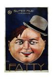 "Roscoe ""Fatty"" Arbuckle Giclee Print"