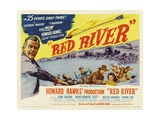 "The River Is Red, 1948, ""Red River"" Directed by Howard Hawks Giclee Print"