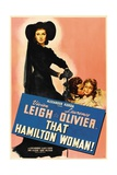 "Lady Hamilton, 1941, ""That Hamilton Woman"" Directed by Alexander Korda Giclee Print"