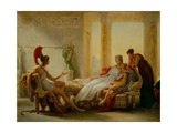 "Aeneas And Dido ""Sketch"" Giclee Print by Pierre-narcisse Guerin"