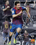 Barcelona Messi - Collage Posters