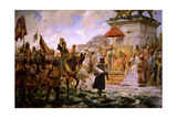 Roger De Flor In Constantinople. 1888, Spanish School Giclee Print by Jose Moreno carbonero