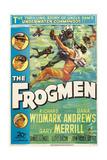 The Frogmen, 1951, Directed by Lloyd Bacon Digitálně vytištěná reprodukce