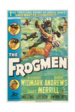 The Frogmen, 1951, Directed by Lloyd Bacon Giclee Print