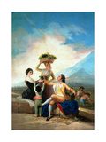 The Grape Harvest or Autumn, 1786 Giclee Print by Francisco De Goya