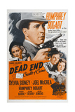 "Dead End: Cradle of Crime, 1937, ""Dead End"" Directed by William Wyler Giclee Print"