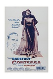 The Barefoot Contessa, 1954, Directed by Joseph L. Mankiewicz Gicléetryck