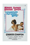A Countess From Hong Kong, 1967, Directed by Charles Chaplin Giclee Print