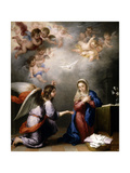 The Annunciation, Ca. 1660, Spanish School Giclee Print by Bartolome Esteban Murillo