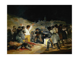The 3rd of May In Madrid, 1814, Spanish School Giclee Print by Francisco de Goya