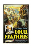 The Four Feathers, 1939, Directed by Zoltan Korda Giclee Print